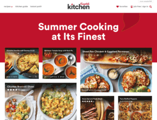 campbellkitchen.com screenshot