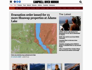 campbellrivermirror.com screenshot