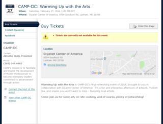 campdc-winterarts.whindo.com screenshot