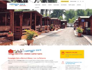 campeggioitalia.com screenshot