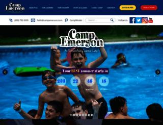campemerson.com screenshot