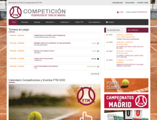 campeonatos.ftm.es screenshot