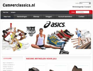 camperclassics.nl screenshot