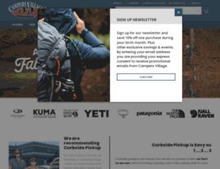 campers-village.com screenshot