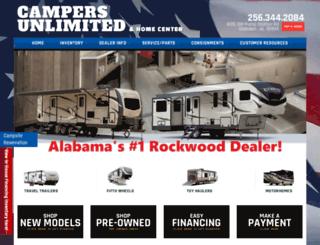 campersunlimited.net screenshot