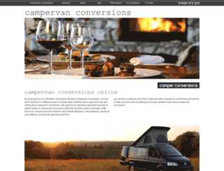 campervan-conversions.com screenshot