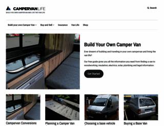 campervanlife.com screenshot