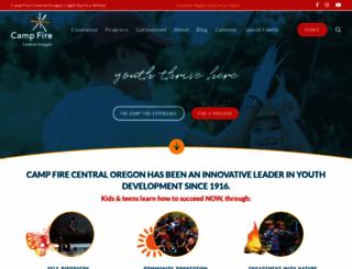 campfireco.org screenshot