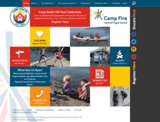 campfireseattle.org screenshot