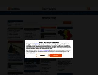 camping-belgie.startpagina.nl screenshot