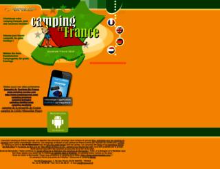 camping-france.com screenshot