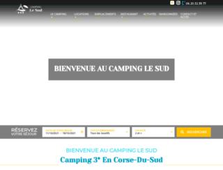 camping-le-sud.com screenshot