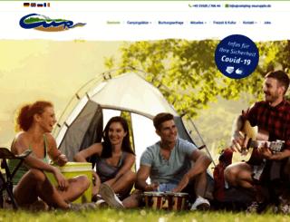 camping-neuruppin.de screenshot