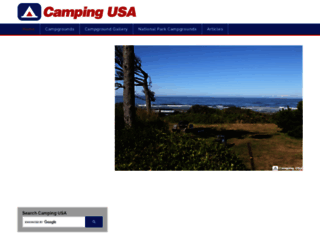 camping-usa.com screenshot
