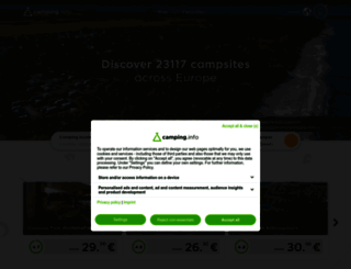 camping.info screenshot