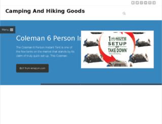 campingandhikinghq.com screenshot