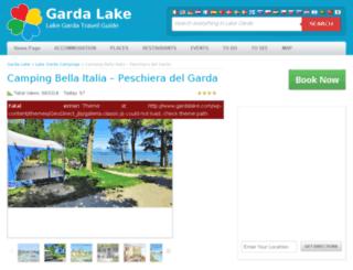campingbellaitalia.eu screenshot