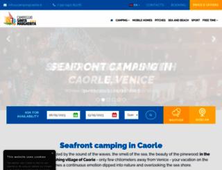 campingcaorle.it screenshot