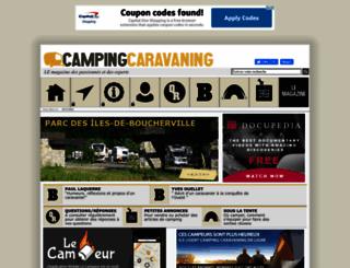 campingcaravaningmag.ca screenshot