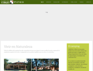 campingcobijo.com screenshot