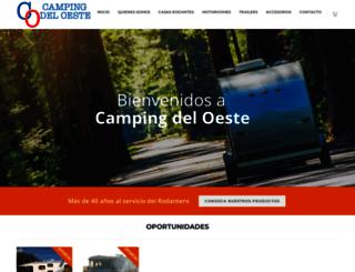 campingdeloeste.com.ar screenshot