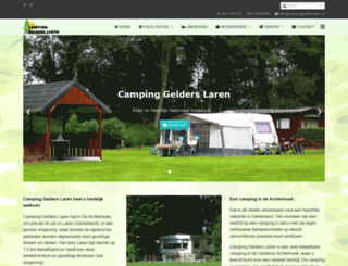 campinggelderslaren.nl screenshot