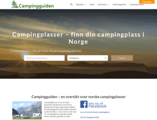 campingguiden.no screenshot