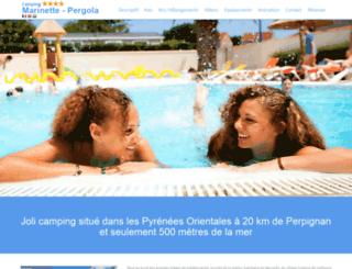 campinglapergola.com screenshot