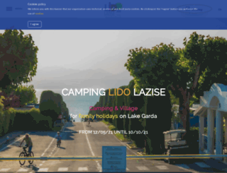 campinglido.it screenshot
