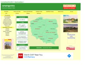 campingpolska.com screenshot