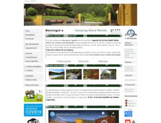 campingrieramerles.net screenshot