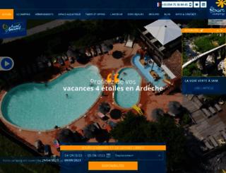campingsaintamand.com screenshot