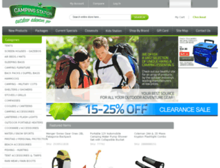 campingstation.com screenshot