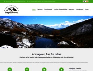 campingtrevelez.net screenshot