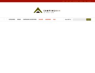 campingway.co.kr screenshot