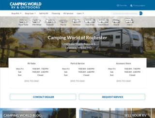 campingworldofrochester.com screenshot