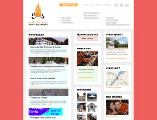campmusical.com screenshot