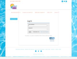 campnac.campintouch.com screenshot