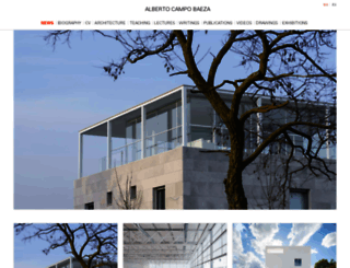campobaeza.com screenshot