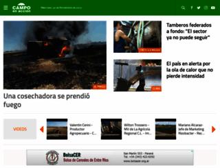 campoenaccion.com screenshot