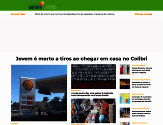 campograndenews.com.br screenshot