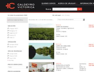 campos.caldeyro.com screenshot