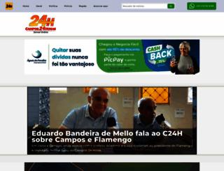 campos24horas.com.br screenshot