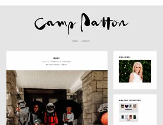 camppatton.com screenshot