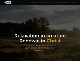 campphillip.com screenshot