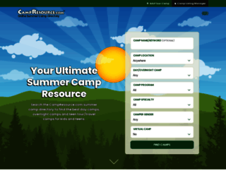 campresource.com screenshot