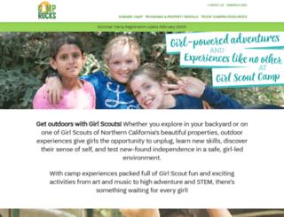 camprocks.org screenshot