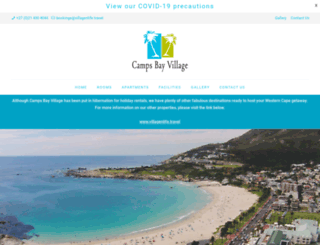 campsbayresort.com screenshot