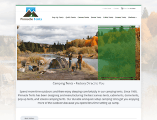 camptents.com screenshot