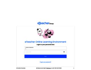 campus.eteachergroup.com screenshot